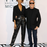Jourdan Dunn and Michael Kors attend Tatlers English Roses 2017 in association with Michael Kors at