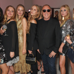 Michael Kors with Aziya Aldridge-Moore Idina Moncreiffe Hum Fleming Lady Lola Crichton-Stuart and Li